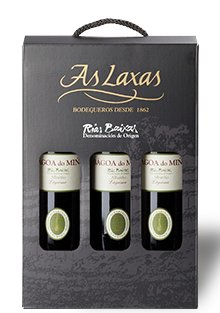 Gift Box Bágoa do Miño Albariño Rías Baixas Selection 3 bottles 750 ml