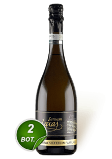 Sensum Laxas Selección Familiar Espumoso Brut 2 botellas 750 ml