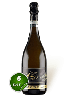 Sensum Laxas Selección Familiar Espumoso Brut 6 botellas 750 ml